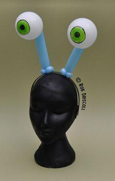 Balloon monster eyes hairband