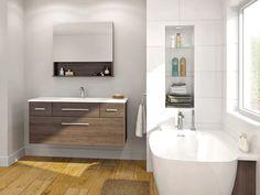 Collection Livito - Express - Contemporary - Vanico Maronyx 24 Vanity, Wall Hung Vanity, Linen Cabinet, Linen Storage, Medicine Cabinet Mirror, Bath Fixtures, Kids Bath, Bath Vanities, Bathroom Furniture