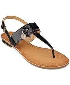 4d7ac7a0e Tommy Hilfiger Women s Harleen Thong Sandals   Reviews - Sandals   Flip  Flops - Shoes - Macy s