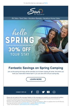 Rv Sites, Hello Spring, Email Marketing, Tent, Vacation, Activities, Store, Vacations, Tents
