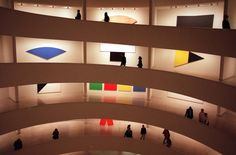 Looking back on his life and art.  Works of Mr. Kelly at the Guggenheim in 1996.