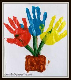 Hand Art For Preschoolers