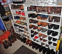This gentleman has a shoe for every occasion. #prepared #fashion
