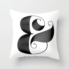 Ampersand Throw Pillow by Jude Landry - $20.00