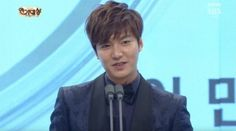 cool 'The Heirs' Lee Min Ho Receives SBS Drama Award 3 Years In A Row