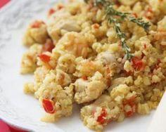 Quinoa au porc, tomates et thym spécial Cookeo : http://www.fourchette-et-bikini.fr/recettes/recettes-minceur/quinoa-au-porc-tomates-et-thym-special-cookeo.html