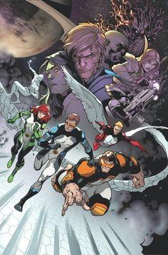 All New X-Men by Stuart Immonen, Wade von Grawbadger, & Marte Garcia *
