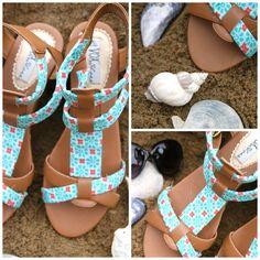 DIY: sandals remake tutorial