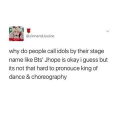 Stop sleeping on king of dance & choregraphy