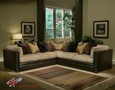 Picture of La Jolla L-Shaped Sectional Sofa Collection - Robert Michael