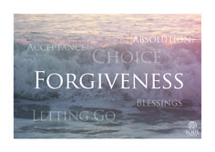 Who could you forgive right now? Is it a choice or a process?