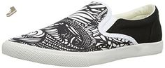 BucketFeet Pescao Low Top Canvas Slip-On Wns 9 - Bucketfeet sneakers for women (*Amazon Partner-Link)