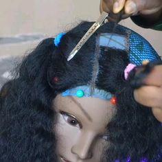 Diy Wig, Glamorous Hair, Braids Wig, Wig Making, Crochet Hair Styles, African Beauty, Lace Closure, Hair Videos, Wig Hairstyles