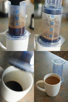 Alternative to a French press. Aeropress. Makes amazing coffee, packs easily.
