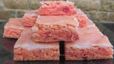 Strawberry Brownies ~ Recipe of today
