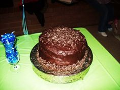 @Tracy Wynn ....oh momma, please? - the chocolate chips...just regular a whoopie, lol ;) Chocolate Chip Whoopie Pie Cake by Think Sweet! Cakes by Trisha