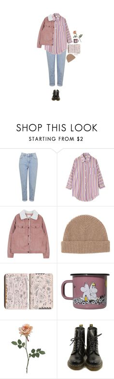 """""""he took my heart and made me happy"""" by hetasdfghjkl ❤ liked on Polyvore featuring Topshop, Chicnova Fashion, Toast, Muurla and Dr. Martens"""