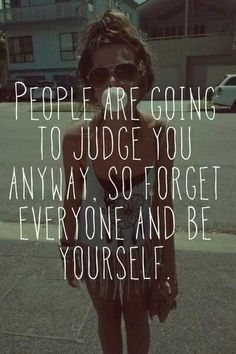 Be yourself #inspirational #quotes
