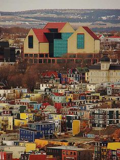 Colorful houses in Newfoundland - Lost At E Minor: For creative people