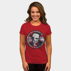 Skull Listening To Good Music T Shirt By ElArrogante Design By Humans Ringer Tee, Good Music, Heather Grey, Tank Man, Long Sleeve Tees, Skull, Plus Size, T Shirts For Women, Woman
