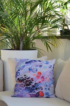 Decorative Cushion Abstract Art Cushion 40cmx40cm Modern | Etsy Decorative Cushions, Maya, Abstract Art, Throw Pillows, Modern, Painting, Etsy, Vintage, Toss Pillows