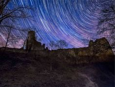 Using star trails in astrophotography
