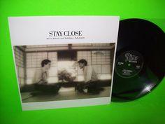 """STEVE JANSEN YUKIHIRO TAKAHASHI STAY CLOSE VINYL 12"""" EP YMO JAPAN MEMBERS NM #AmbientElectronicaSynthPop #SteveJansen #YukihiroTakahashi"""