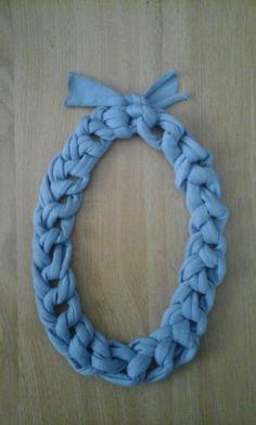 Collar cadena (trapillo grueso)