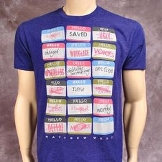 Hello My Names Is Tee | Matthew West Official Store  Child of the one true king...I want it!!
