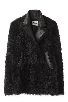 Acne - Best Fur Coats for Fall 2012