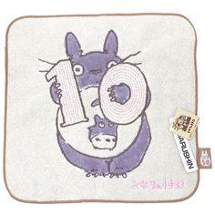 Mein Nachbar Totoro Mini-Handtuch 10 Oktober - mrbento.de