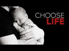 "Pro-life Video | Choose Life. One viewer commented ""I was 18 when I had my son and I still managed to get a Bachelor's degree in time! Pro life, not excuses!"""