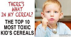 When we think of kids' breakfasts in America, we tend to think of the icons we grew up with: Cap'n Crunch, Tony the Tiger and Count Dracula. This kind of marketing has encouraged kids to demand cereal loaded with sugar, and has also eroded our concept of what comprises of a healthy breakfast. Cold cereals #nutritionfactstruths