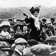 "On The Eloquent Woman blog, this week's Famous Speech Friday is UK suffragette Emmeline Pankhurst's speech ""Freedom or Death."" Click through to find out what speakers can learn from this firecracker of a speech."