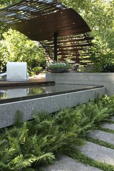 Design Dean Herald MIFGS 2011.  Use this idea from Bulbiz building. #PinMyDreamBackyard