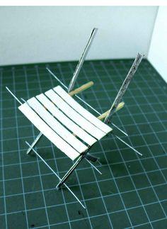 minimanie: Le jardin d\'Emilie... | Mini Furniture Techniques ...
