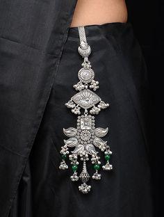 Waist Jewelry, Indian Jewelry Earrings, Fancy Jewellery, Silver Jewellery Indian, Jewelry Design Earrings, Indian Jewellery Design, Silver Wedding Jewellery, Silver Jewelry, Jewelry Accessories
