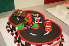 disney cars cake | Disney Cars Cake — Children's Birthday Cakes