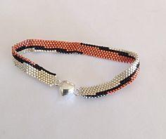Boho Beaded Bracelet Southwest Pattern by desertshinejewelry