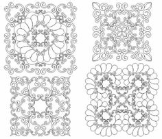 whole cloth quilt patterns   Whole Cloth   whole cloth quilt ... : whole cloth quilt stencils - Adamdwight.com