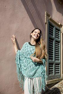 33bfd1954 Cristina Poncho pattern by Filatura Di Crosa Italia s.r.l