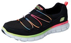 Skechers LOVINGLIFE.  I have these, they are the best!  I will never go back to sneakers that don't have memory foam!