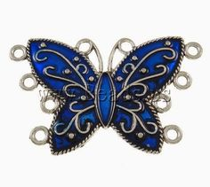 Blue Butterfly Pendent By :Shuang Cui Unique Jewelry - Community - Google+ Blue Butterfly, Jewelry Making Supplies, Bugs, Brooch, Jewels, Unique Jewelry, Community, Accessories, Google
