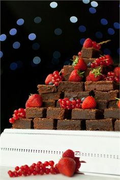 Chocolate Brownie Cake?