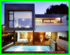 desain kolam ikan minimalis depan rumah paling cantik