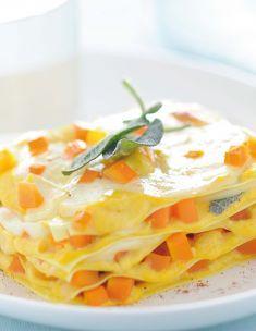 Lasagnette con carote, scamorza e salvia croccante - Tutte le ricette dalla A alla Z - Cucina Naturale - Ricette, Menu, Diete