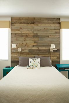 Artistic Pallet, Peel and Stick Wood Wall Design and Decorations 11 - For the Home -
