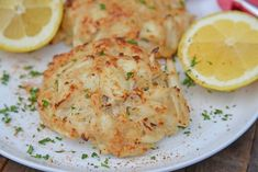 Maryland Crab Cakes are made with jumbo lump crab meat with little filler, Dijon mustard and Old Bay plus secrets to making authentic Chesapeake crab cakes! Homemade Crab Cakes, Crab Cake Recipes, Fish Recipes, Seafood Recipes, Cooking Recipes, Fudge Recipes, Salmon Recipes, Cooking Ideas, Chicken Recipes