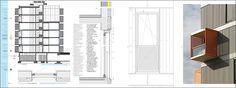 Construction details. BEVK PEROVIC ARHITEKTI. Maribor. Slovenia #housing #vivienda DENSITY SERIES Published in HoCo Density Housing Construction and Costs http://aplust.net/tienda/libros/Serie%20Densidad/HoCo%20%28Density%20Series%29/