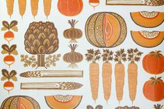 Vintage+Wallpaper+by+the+Yard+70s+Retro+by+RetroWallpaper+on+Etsy